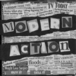 MAR001 - Modern Action - S/T 7""