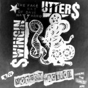 "MAR027 Swingin Utters / Modern Action split 7"" click for pressing details"